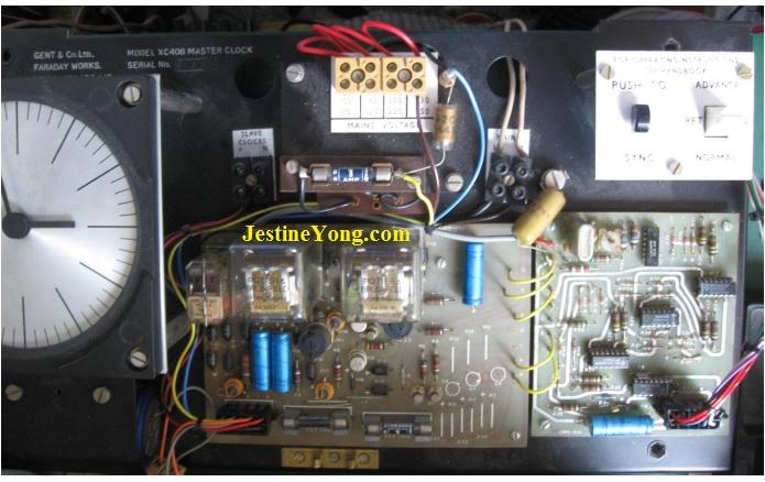 Gent's XC408 Master clock repair