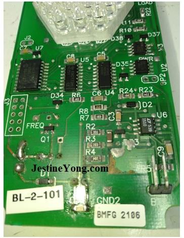 biolight 3000 circuit board repair