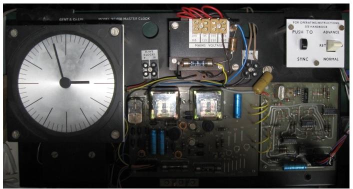 Gent's XC408 Master clock repair and fix