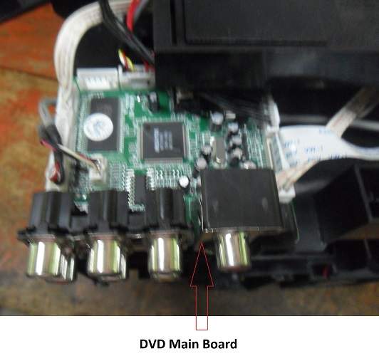 dvd player main system board