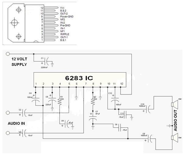 cd6283cs ic datasheet