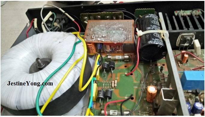 torroidal transformer amplifier repair