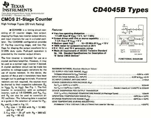 cd4045b ic