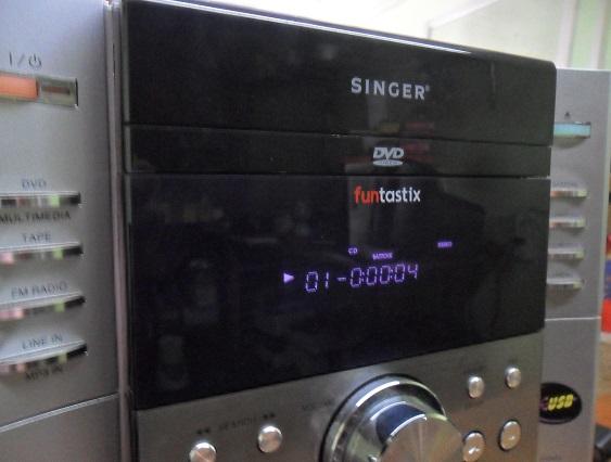 singer dvd player system repair