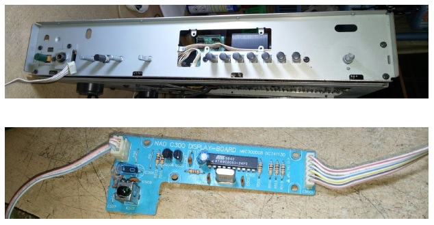 how to fix nad c300 amplifier