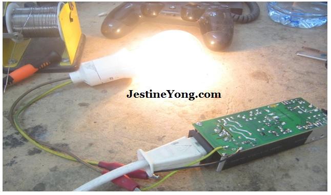 series light bulb trick in repair