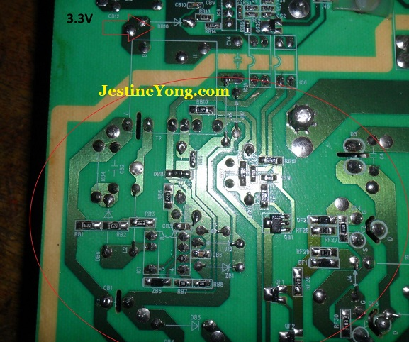 standby problem in singer lcd tv repaired