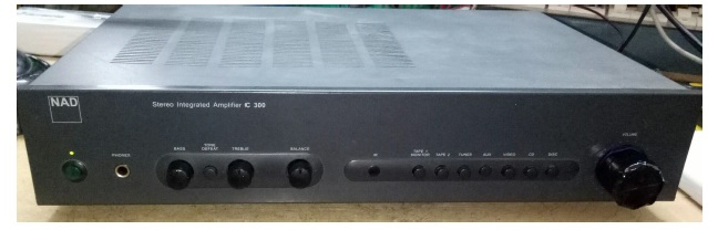 how to fix and repair nad c300 amplifier