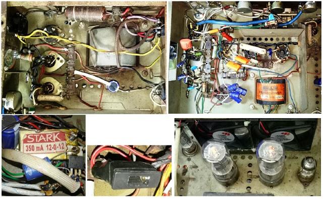 maintenance service for antique power amplifier