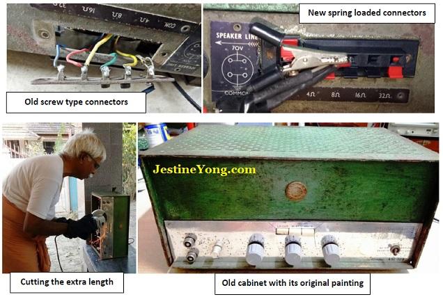 parasuraman repairing antique power amplifier