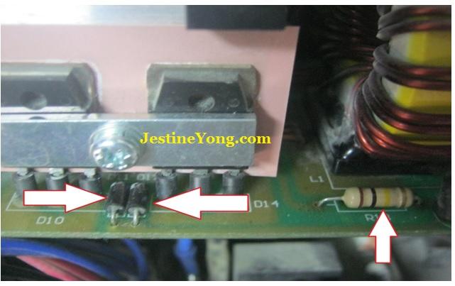 fr104 diode  shorted