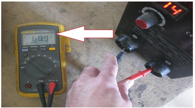 how to check welder machine