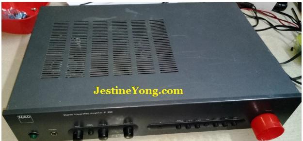 how to repair nad c300 amplifier