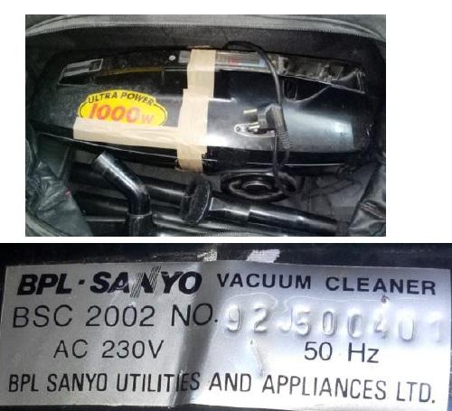how to repair sanyo  vacuum cleaner
