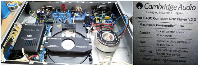 dvd repair with bad toroidal transformer