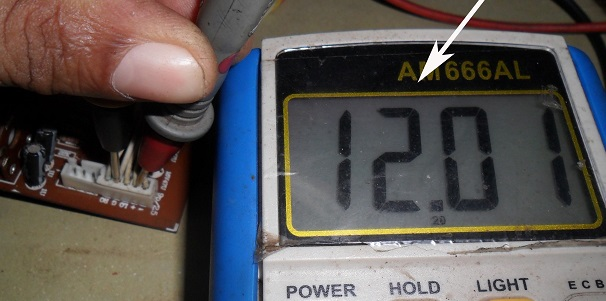 voltage in active speaker repair