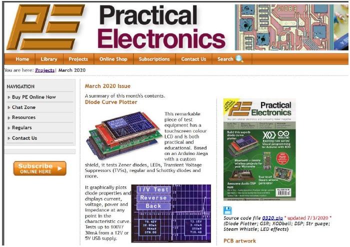 practical electronics magazine