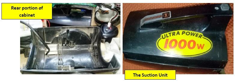 1000 watt vacuum cleaner repair