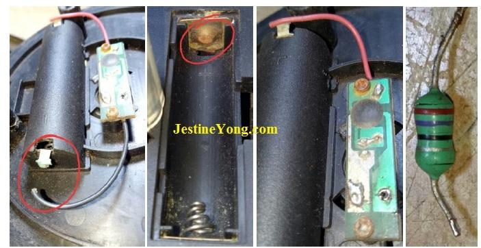 how to repair solar gate lamp