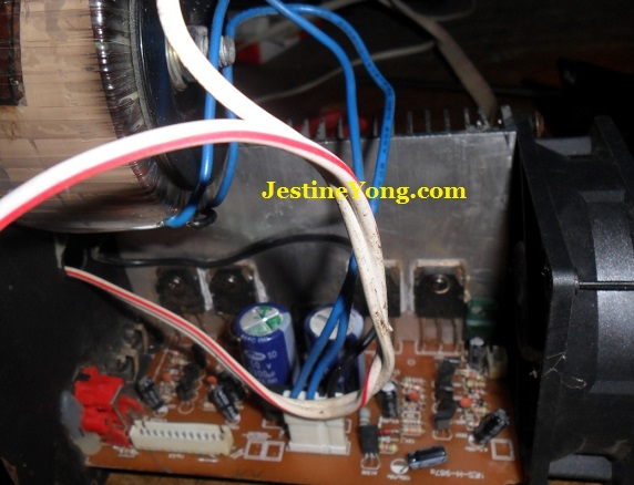 how to repair active speaker