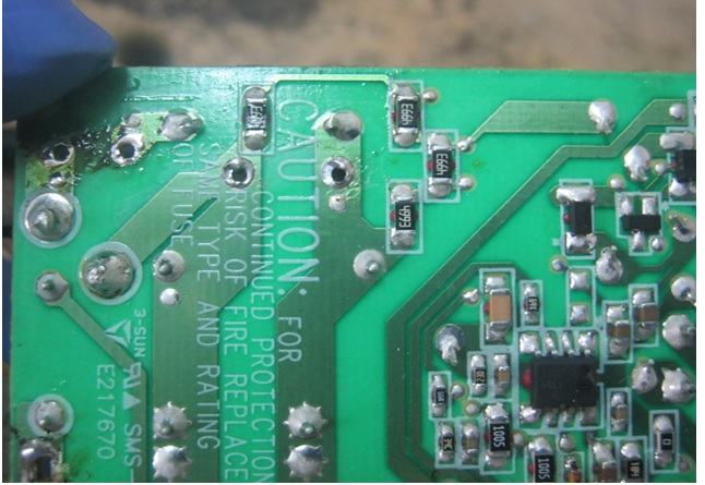 xbox power supply circuit board