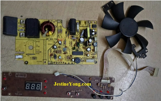 troubleshooting induction cooker