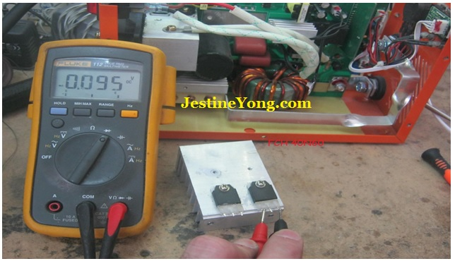 welding machine igbt shorted