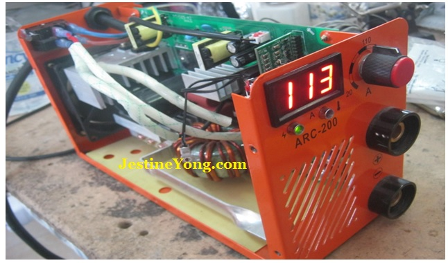 repairing welding machine easily