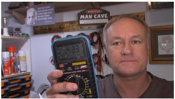 how to service multimeter