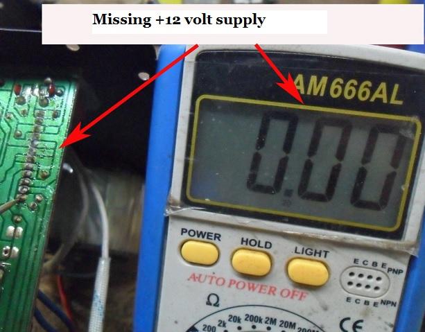 positive voltage in active speaker
