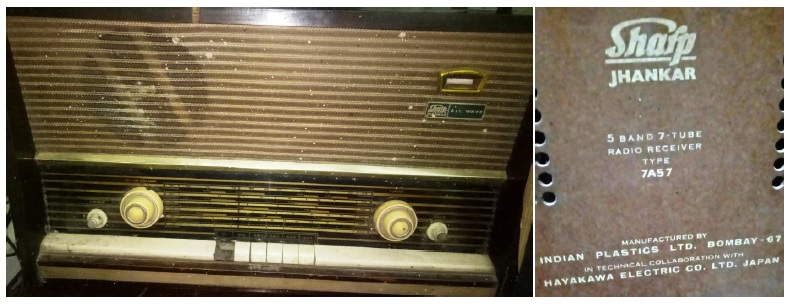 Sharp Jhankar Tube Radio 7A57