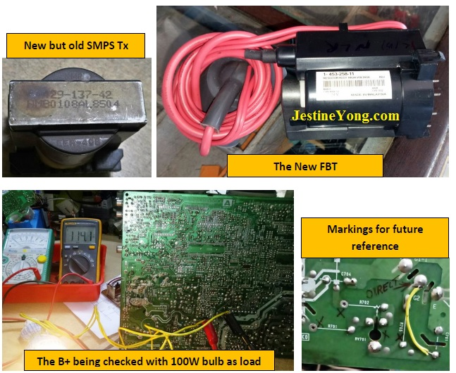 sony crt tv repair how to