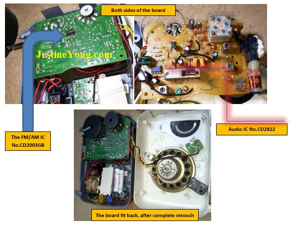how to fix and repair philips radio easily