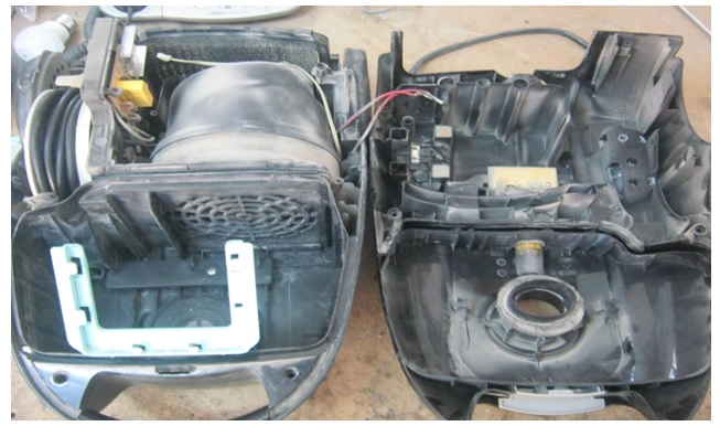 how  to fix and repair vacuum cleaner