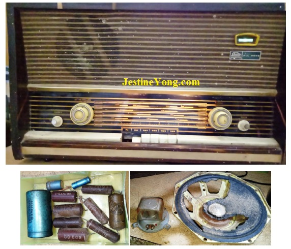 how to fix valve radio sharp