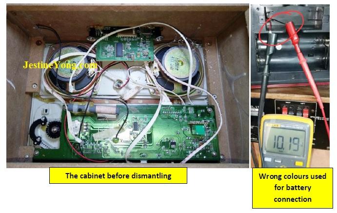 fixing radio