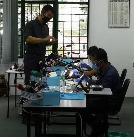 sop malaysia electronics training