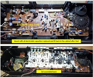 Corroded Tracks And Bad Capacitors Found In Sharp Two In One
