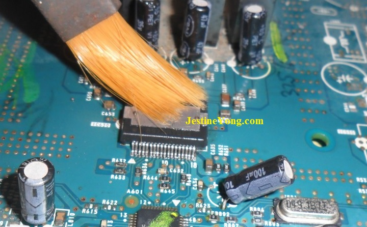 how  to clean ic