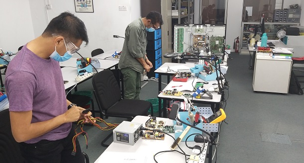 kursus teknikal elektronik untuk peserta dari kuantan