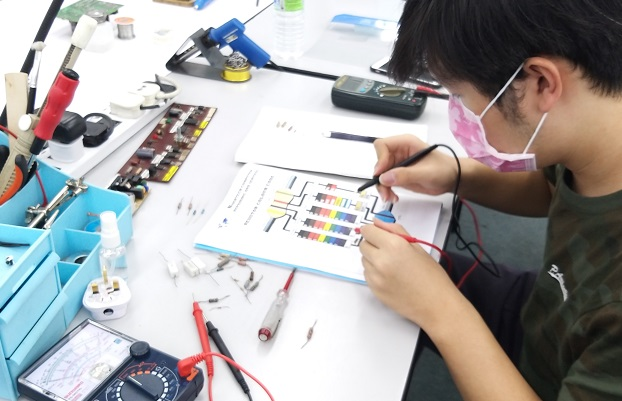 electronics repair course for medical equipment employee