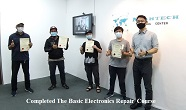 trengganu student electronics repair course