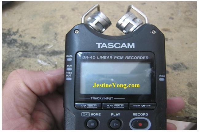 tascam audio repair