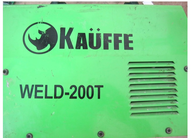 kauffe welding machine repair