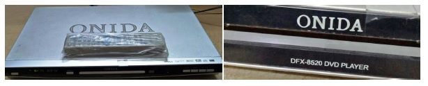 onida dvd player repair