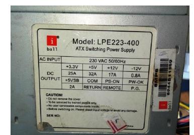 atx power supply fix
