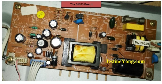 dvd power supply repair