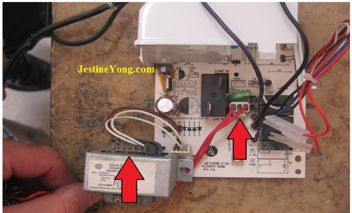 how to fix and repair air condition power board