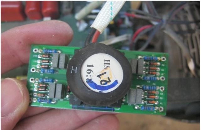 welding machine circuit board repair