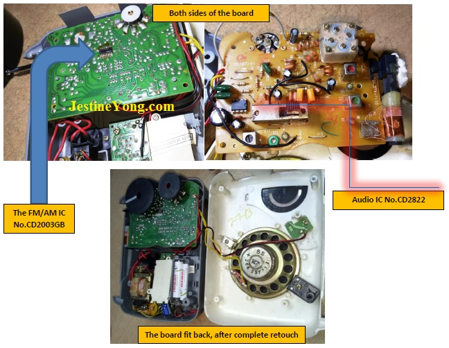 how  to fix and repair Philips Radio